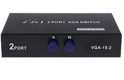 [109006] 2 Port VGA Switch